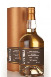 Auchentoshan 11 Year Old - Duthies (WM Cadenhead) Single Malt Whisky