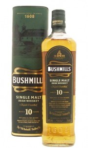 Bushmills 10 Years Old Whiskey