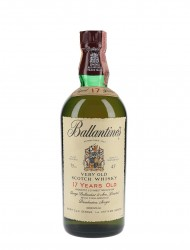 Ballantine's 17 Year Old Bottled 1980s