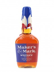"Maker's Mark ""Rock the Vote"" (Blue / White / Red Wax)"