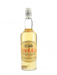Caol Ila 12 Year Old / Oval Orange Label