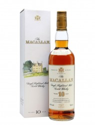 Macallan 10 Year Old / Sherry / Bot.1990s