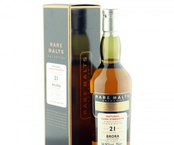 Brora 1977 21 Year Old, Rare Malts Selection with Box