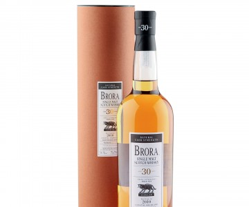 Brora 30 Year Old, Natural Cask Strength 2010 Bottling with Tube