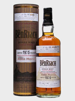 BenRiach 1975 for Asta Morris, Belgium