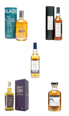 Burns Night whiskies - flight #3